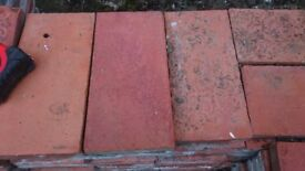 Victorian Red Clay Quarry Tiles 250mm x 125mm x 27mm - 356 Reclaimed Tiles