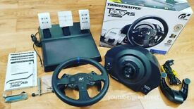 Thrustmaster T300 RS+Shiffter+GT OMEGA Stand+ Racing chair