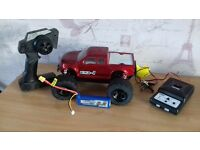 rc monster truck brushless 1/14 ready to run