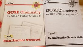 GCSE OCR 21ST CENTURY CHEMISTRY EXAM AND ANSWER BOOK