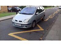 Renault Scenic 1.6 Petrol 51 Reg Tax & Mot