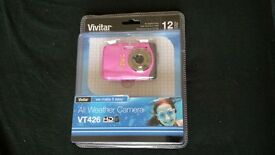 Brand new in packet. Pink Vivitar Camera Model VT426. RRP £39.99
