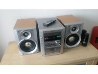 Sharp XL-HP700H Genuine 3CD Hi-Fi Stereo Micro System + Original Remote Control & Manual