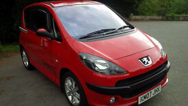 Exeptional low millage Peugeot 1007 sport semi auto with 12 mths MOT (2007)