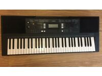 AMAHA PSR E343 Portable Keyboard With Power Adapter, Box and Music Stand £100 ono (Timperley)