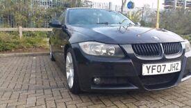 BMW 320I M SPORT, BLACK, EALING