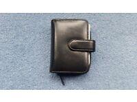 Woman Debenhams Black Wallet, Includes Diary, Notepad, Zips, Contact me soon as , Cheap price at £3
