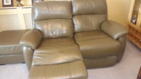 Leather 2x1x1 suite