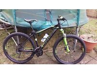 mens mountain bike- cube