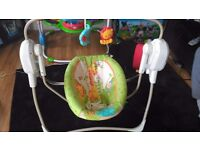 Fisher Price Rainforest Friends Cradle 'n' Swing