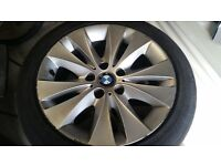 bmw 17 inch alloy wheels 5x120 may fit t5 vivaro traffic