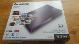 blue ray 3d dvd player brand new