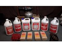 Thermal Fogger and chemicals for house renovators or car wash companies.
