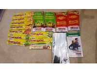 Variety of High5 energygel, energy source, protein recovery packs