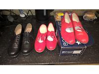 black tap shoes size 8 1/2