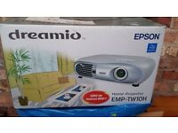 Home Cinema Epson Projector EMP - TW10H - WITH SCREEN!! BARGAIN!!