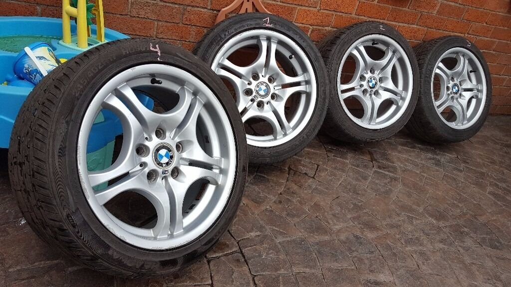 Bmw Alloy Wheels 17 Quot 3 Series E46 E36 Z4 Z3 Borbet Style 68 2229180 2229135 330 In Crewe
