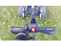 Motocaddy Electric Golf Trolley Digital S1. Includes Charger + Lithium battery and box.