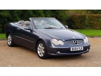 MERC CLK 240ELEG AUTOMATIC CONVERTIBLE 54PLATE 2P/OWNER 119000 MILES FULL SERVICE HISTORY LEATHER AC