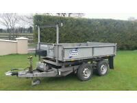 Ifor Williams tipper trailer 8x5 2009