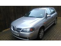 2003 NISSAN ALMERA 2.2 FULL MOT BREAKING FOR PARTS OR SPARES OR REPAIRS