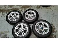 16 inch genuine bmw alloy wheels and tyres