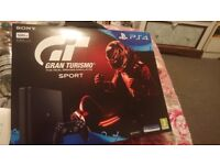 BRAND NEW STILL SEALED IN BOX PS4 WITH GRAN TURISMO GAME