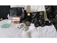 Nikon Digital Camera D3100 18-55 VR Kit + Tamron AF70-300mm Lens F4-5.6 Di