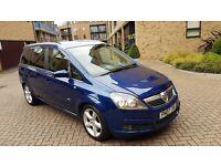 2007 Vauxhall Zafira Sri 1.9 Cdti Diesel Manual 7 Seater