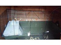 large indoor rabbit /guinea pig cage