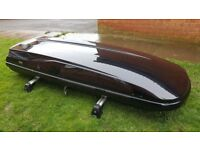 Genuine BMW Roof Box 450 Liters with Roof Bars, E61, BMW 5 series