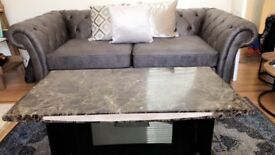 SOLID MARBLE TABLE BRILLIANT CONDITION