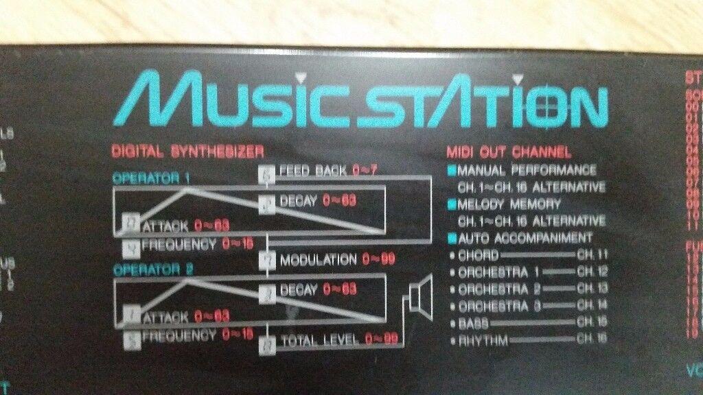 Yamaha Portasound PSS-780 1980s Keyboard/Synth