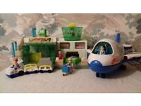 Airport Playset by Happy Kid Toy Group