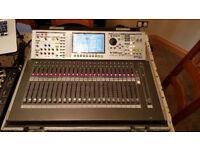 Roland M-400 Digital Mixing Desk With S-1608 Stage Box, Flightcase & 50m Reel