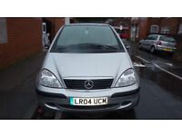 mercedes a140 2004 ptrol full history old mots low miles