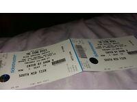 2 Stone Roses Tickets Belfast