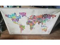 Funky map canvas