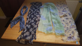 Bundle of gorgeous spring/summer scarves £1.50
