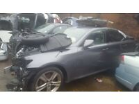 Lexus IS250 2012 2.5 Petrol For Breaking - CALL NOW!!! NO FRONT END