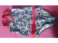 minnie mouse tankini 9-10years