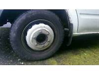 Transit tipper mk 5 6 7 8 wheels and tyres