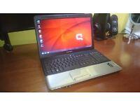 Laptop HP Compaq 15.6'' 3GB RAM 250GB HDD Windows 7 with Webcam HDMI