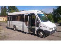 IVECO 45C12 MINI BUS 24 SEATS LHD LEFT HAND DRIVE ORGINAL VERY GOOD DRIVE ELECTRIC DOOR