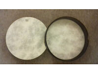 2 x Remo Hand Drum 16 inches