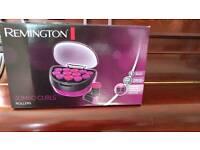 Remington jumbo heated rollers