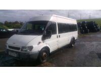 Ford Minibus, 2003, 112k miles, £1200