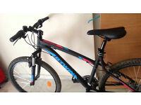 Rockrider 340 Mountain Bike - Black/Blue/Red unisex