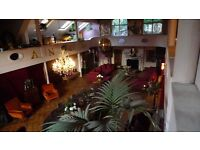 Eccentric victorian location available for filming & photoshoot daily / weekly hire