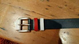 Hackett Belt Colours of GB Flag